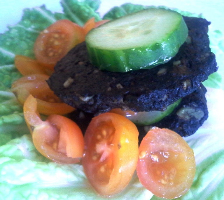 Raw Burger Recipe, Raw recipes, healthy recipes
