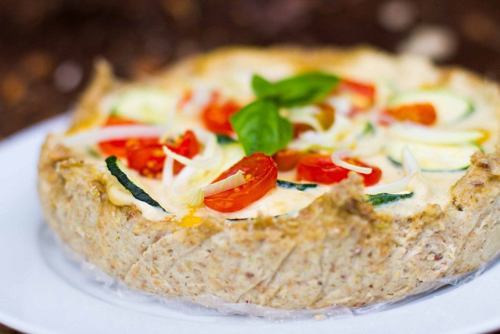 Raw Quiche Recipe