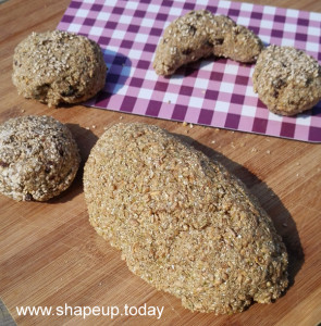 Sprouted raw bread