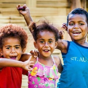 Gorgeous Fijian children