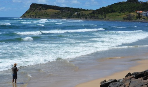 Travelling, Lennox Head
